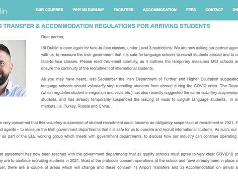 Irlanda pasa a Fase 3 y reabre sus escuelas