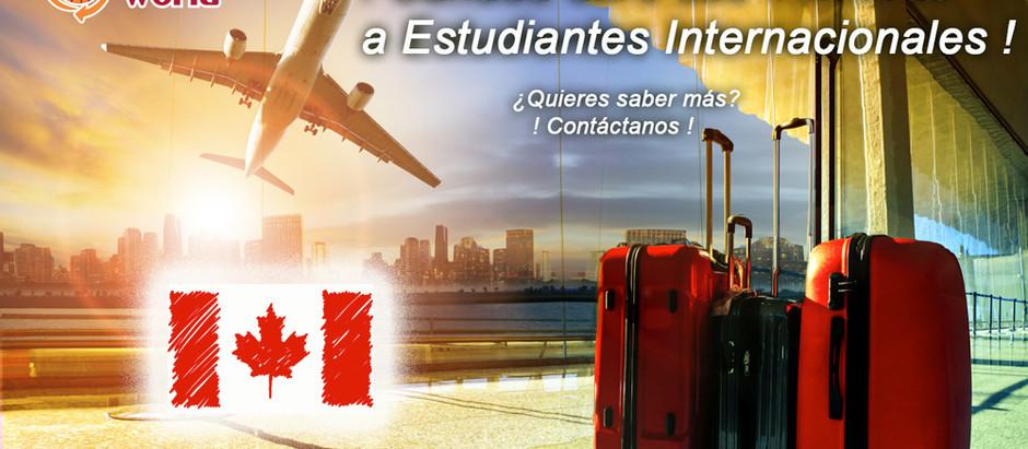 ! Canadá abre de nuevo sus fronteras a estudiantes internacionales !