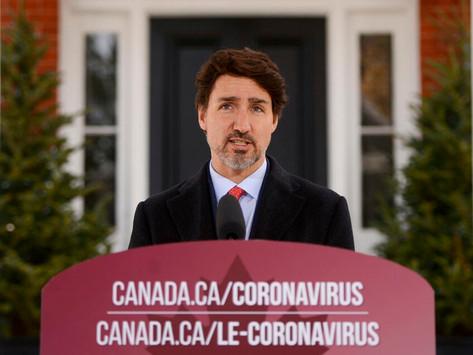 La pandemia en Canadá continuará durante meses, dice Trudeau