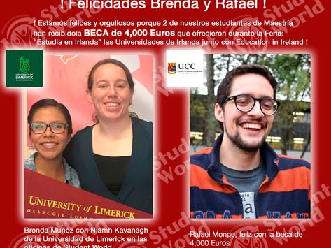 ! Felicidades Brenda y Rafael !