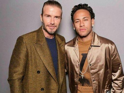 David Beckham e Neymar Jr