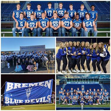 Various athletic teams