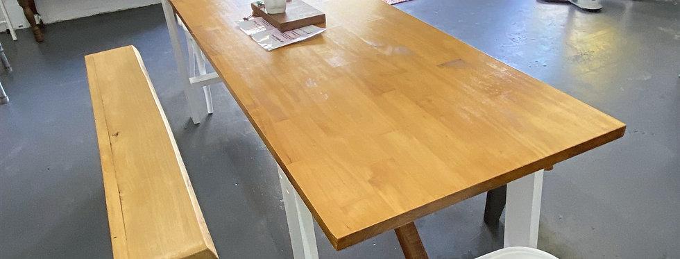 Hampton's Style Refectory Table