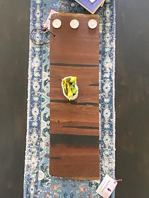 III Candle Platter $55