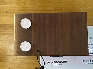 II Candle Platter $45