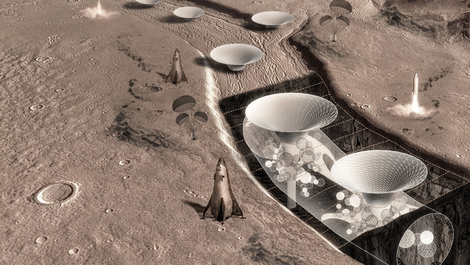 Martian Canopy