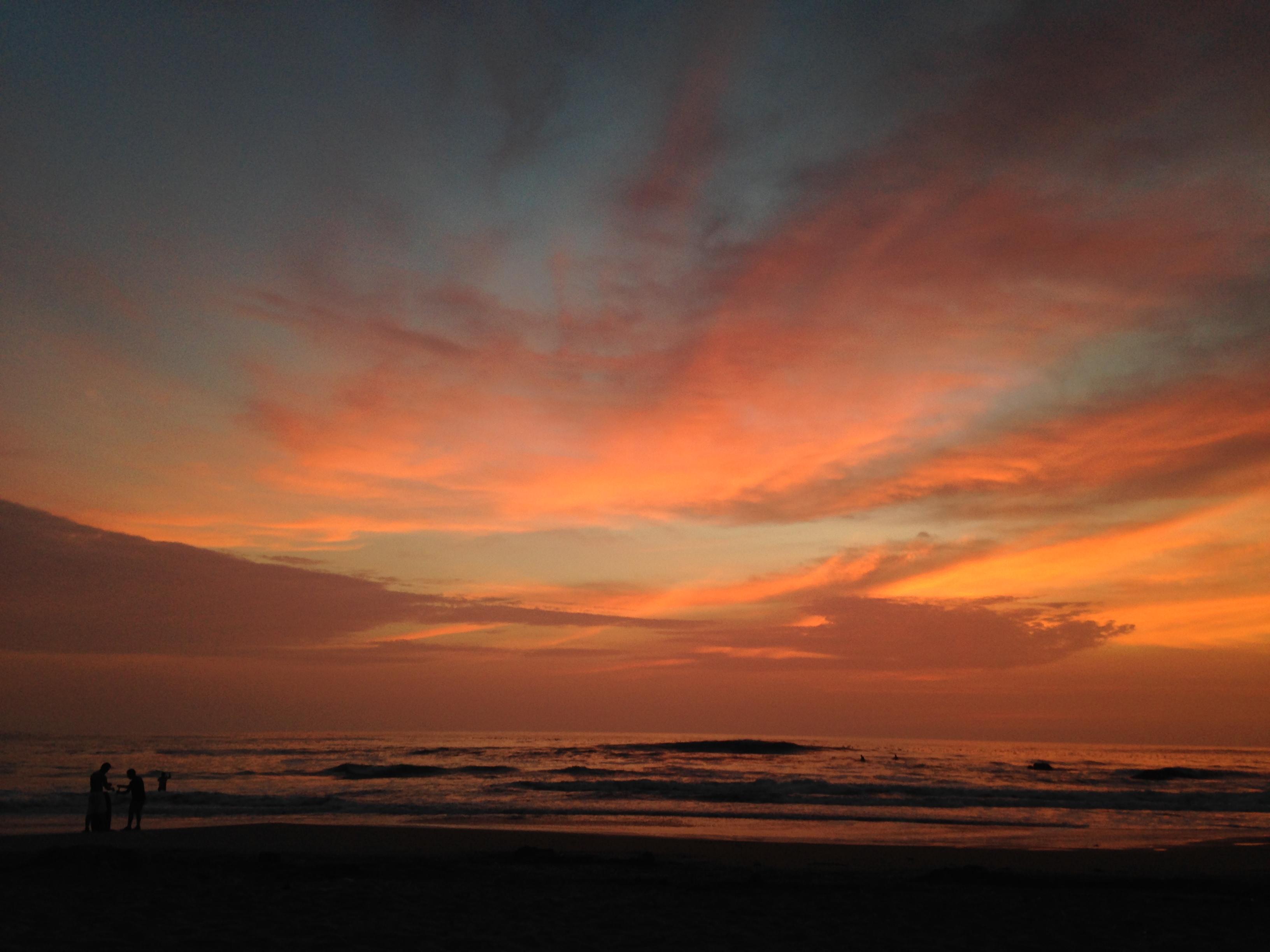 Sunset Santa María