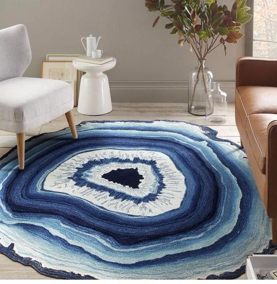 Alternativa de alfombra para comedor