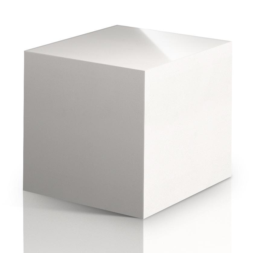 Cubo de Cuarzo Blanco Zeus