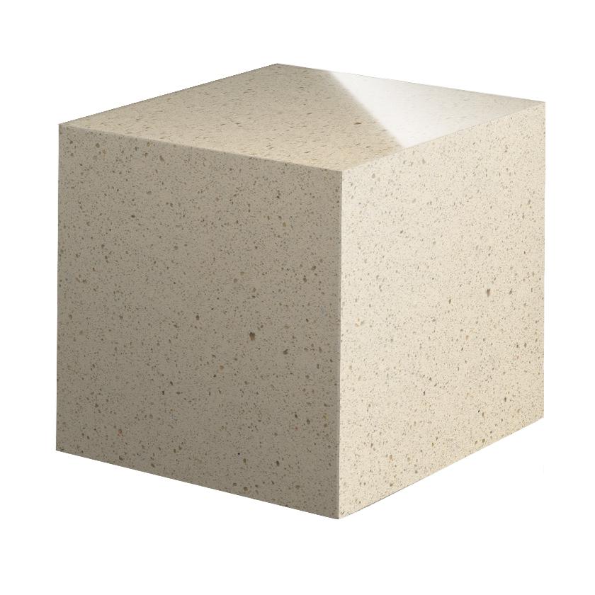 Cubo de Cuarzo Blanco Capri