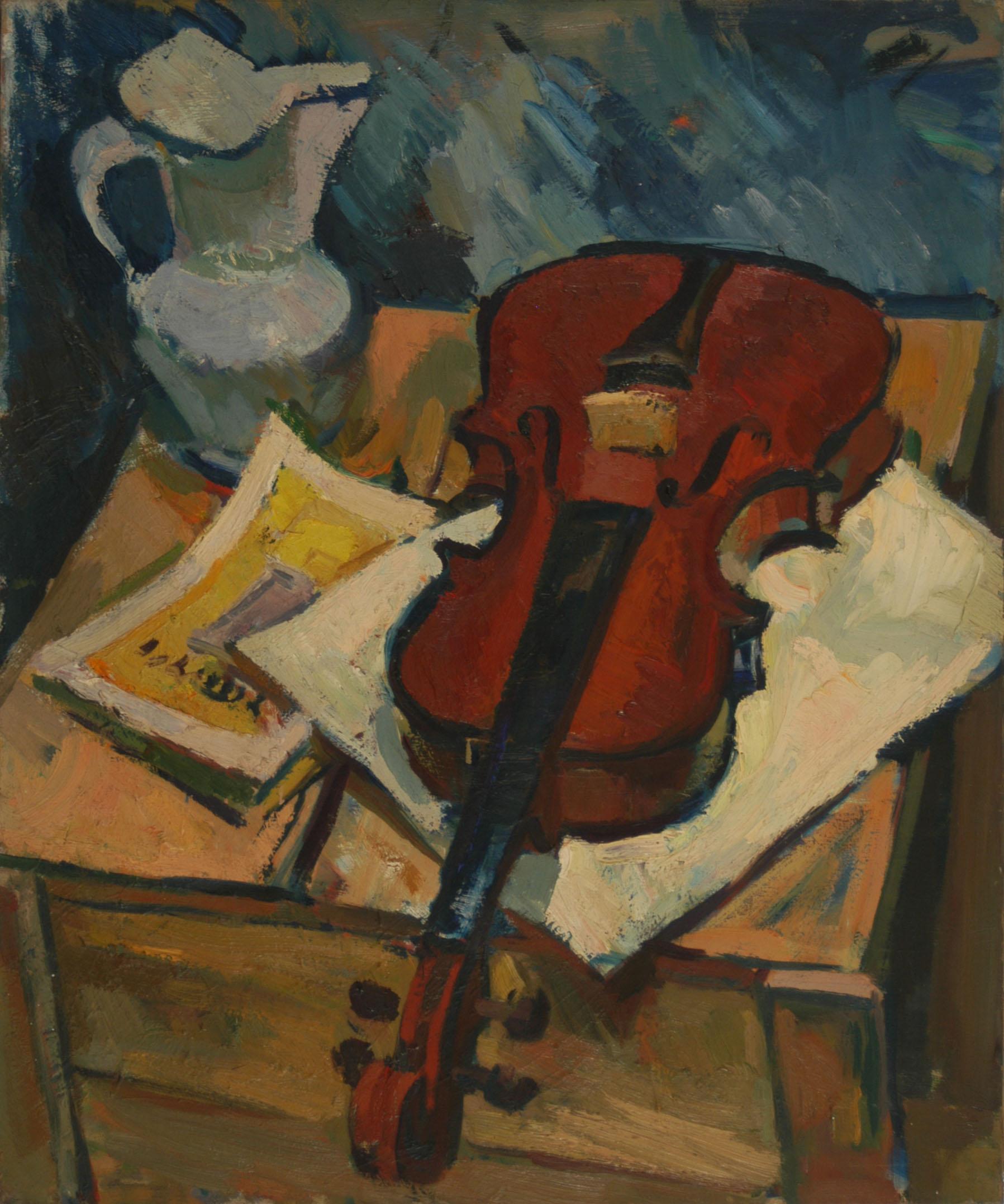 Broc et violon
