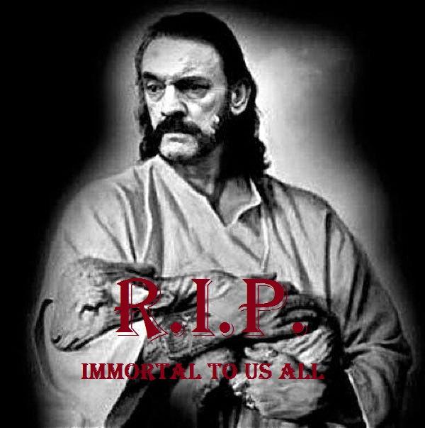 R I P  Lemmy   Born to Be a Legend
