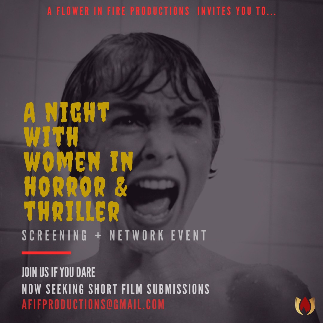 A night with women in horror & thriller.