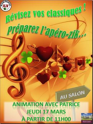 """Animation """"Apéro-zik"""", Cholet, 2016"""