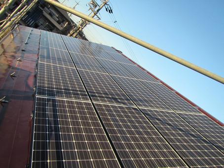 2020.11.21 パナソニック太陽光発電+蓄電池設置工事