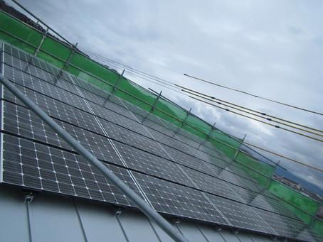 2020.11.26 三菱太陽光発電システム設置工事