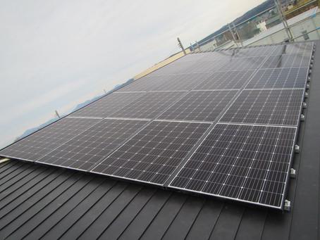 2020.12.10 長州産業 太陽光発電システム設置工事