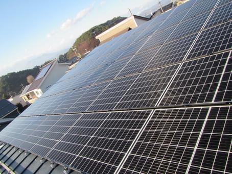 2020.12.06 Qセルズ太陽光発電システム設置工事