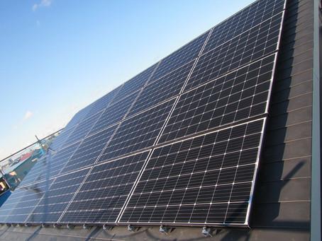 2020.12.07 長州産業 太陽光発電システム設置工事