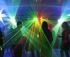 DJ e iluminação