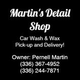 Martin's Detail Shop