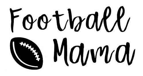 Football Mama VINYL DECAL