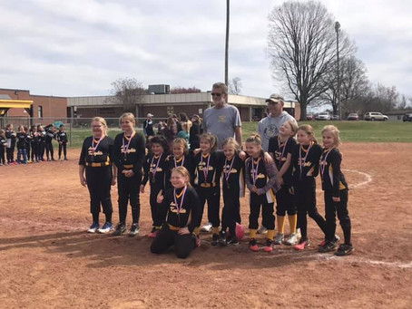 Boonville 8U Softball takes 2nd Place!