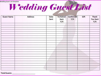 Need help figuring out how many guests to invite to your Wedding?