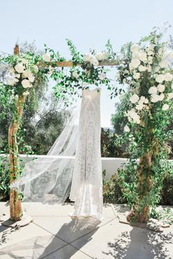 Backyard Formal Wedding