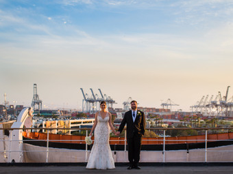 Want to get married on boat..take a look at the Queen Mary in Long Beach, CA!!!