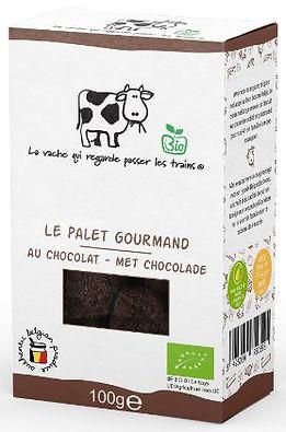 LA VACHE BISCUIT SUCRE AU CHOCOLAT .JPG