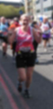 rb massage London Marathon