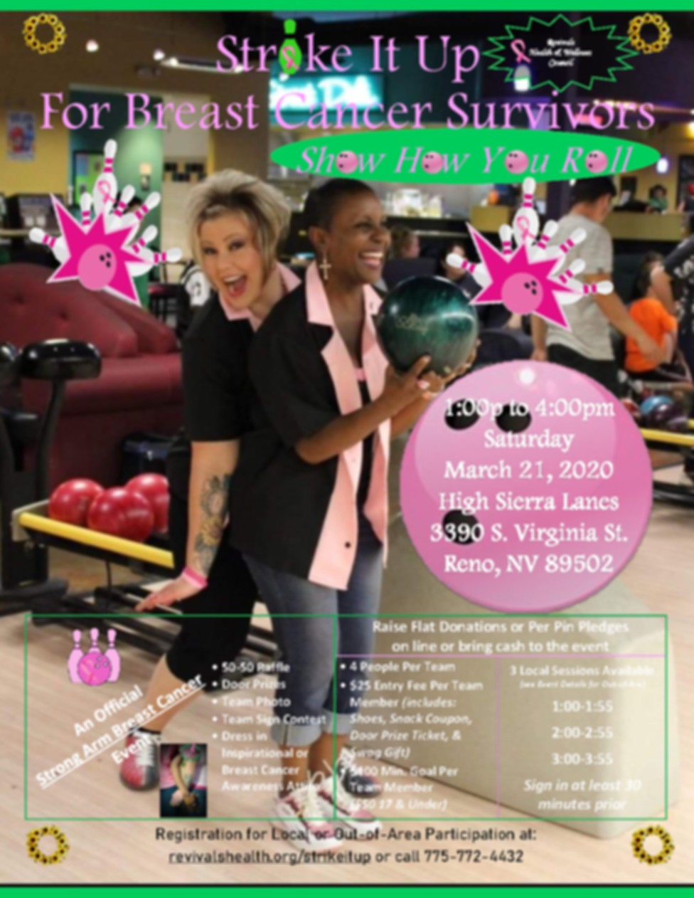 Strike It Up For Breast Cancer Survivors