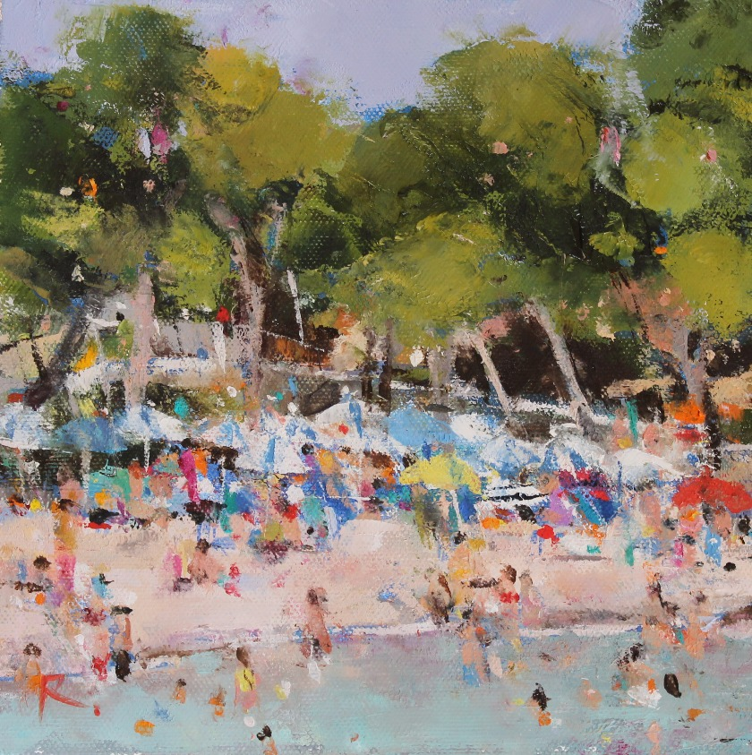 On the Beach, Minorca
