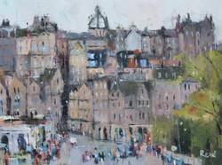 Tourists, Edinburgh