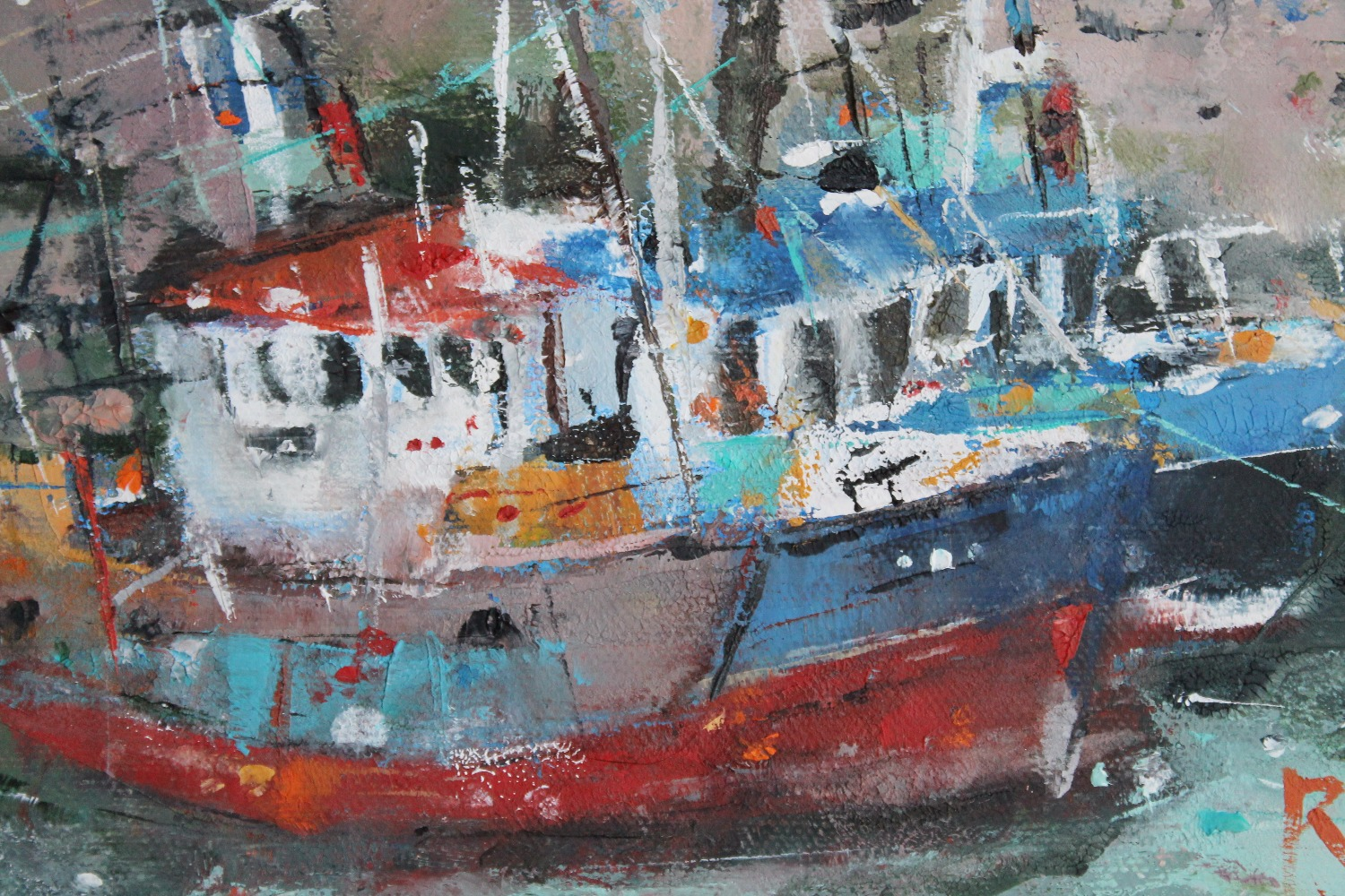 Fishing Boats, Pittenweem