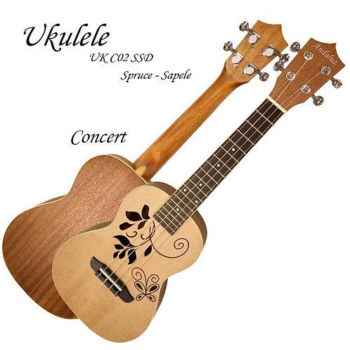 UKULELÊ ANDALUZ CONCERT UKC-02-SSD