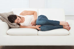 Using acupuncture to treat premenstrual syndrome.
