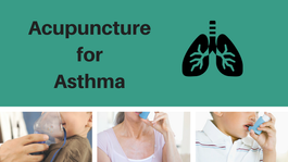 Acupuncture provides benefits to patients with asthma