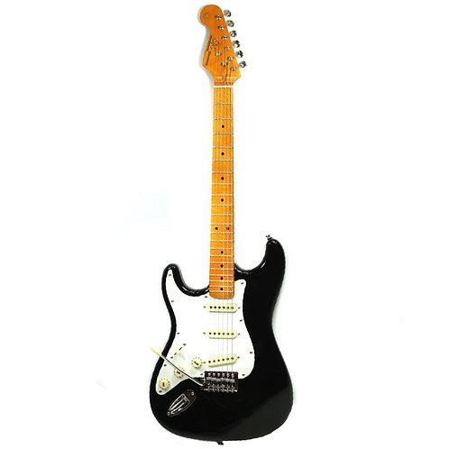 Guitarra Strato Canhoto Sx Vintage Sst57lh Bk Preta