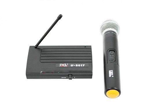 MICROFONE SEM FIO JWL UHF U-8017