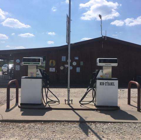 Gas & diesel sold here