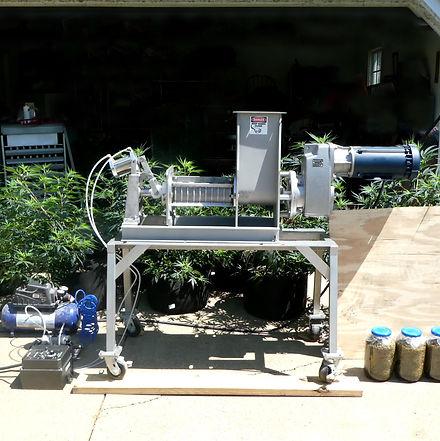 hemp screw press, hemp oil press