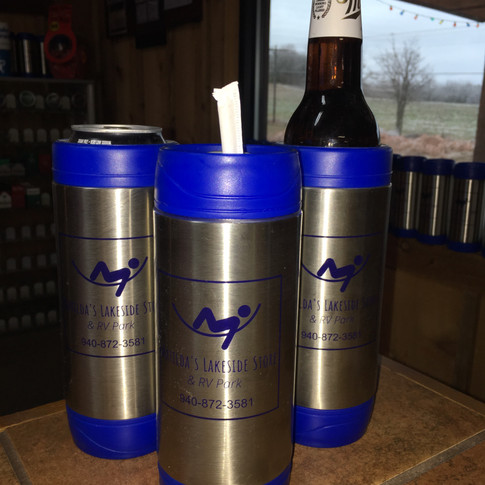 Our Kankooz holds cans, bottles or pour your favorite drink inside