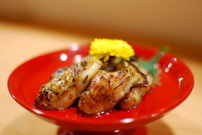 牡蠣の西京漬け炙り