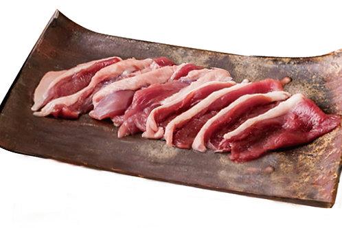 京鴨肉のみ  ロース&もも  一人前セット