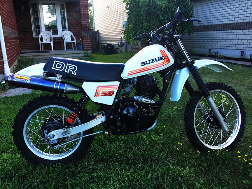 Suzuki bike decals