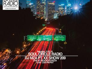 DJ MZA SHOW 209 RECAP