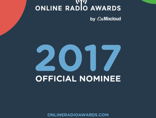 SCR NOMINATED FOR BEST ONLINE RADIO SHOW
