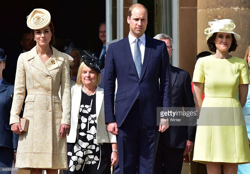 Kate, William and Theresa